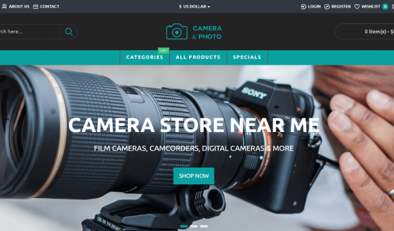 Camera Store Near Me