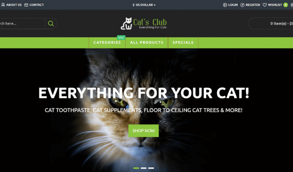Cat Store Online
