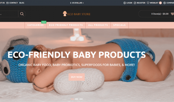 Eco-Friendly Baby Store