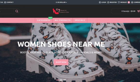 Women Shoes Near Me